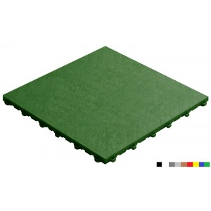Fitnessvloer BoPelle groen