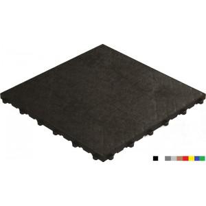 Fitnessvloer BoPelle zwart