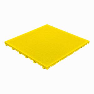 Garagevloer BoPelle leerstructuur geel