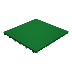 Garagevloer BoPelle leerstructuur groen