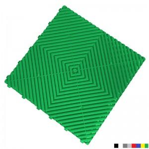 Garagevloer BoPlano groen