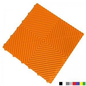 Garagevloer BoPlano oranje