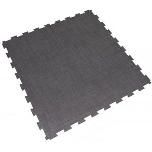 Bedrijfsvloer BoSiwent groot-formaat kliktegel 914x914 mm donker-grijs