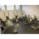 Fitnessvloer BoSiwent Design kliktegel 914x914 mm betonlook grijs