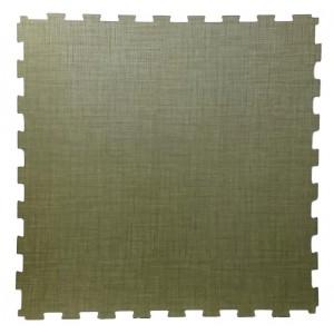 Bedrijfsvloer goot-formaat kliktegel 914x914 mm groen