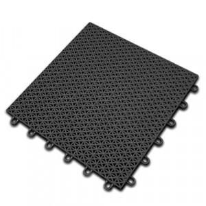 Sportvloer-Kliktegel-zwart