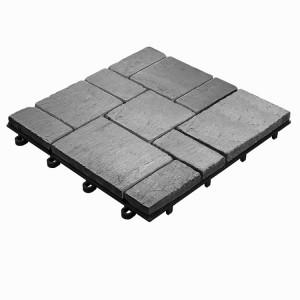 Terrastegel-toplaag natuursteen Leisteen