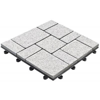 Balkon- en terrastegel BoStone graniet klein