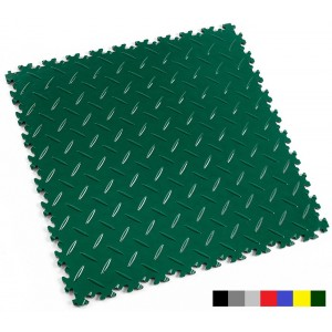 Industrievloer Fortelock INDUSTRY 2010 traanplaat british racing green