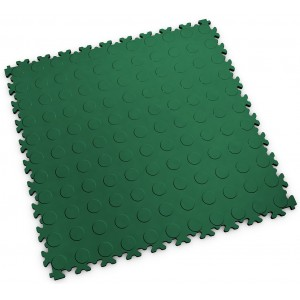 PVC-kliktegel Noppen Fortelock INDUSTRY 2040 british racing green