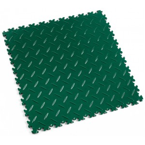 PVC-kliktegel Traanplaat Fortelock INDUSTRY 2010 british racing green