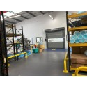 Bedrijfsvloer pvc kliktegel-industrie 7 mm blauw