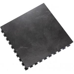 Bedrijfsvloer design kliktegel 10 mm  leisteen-look