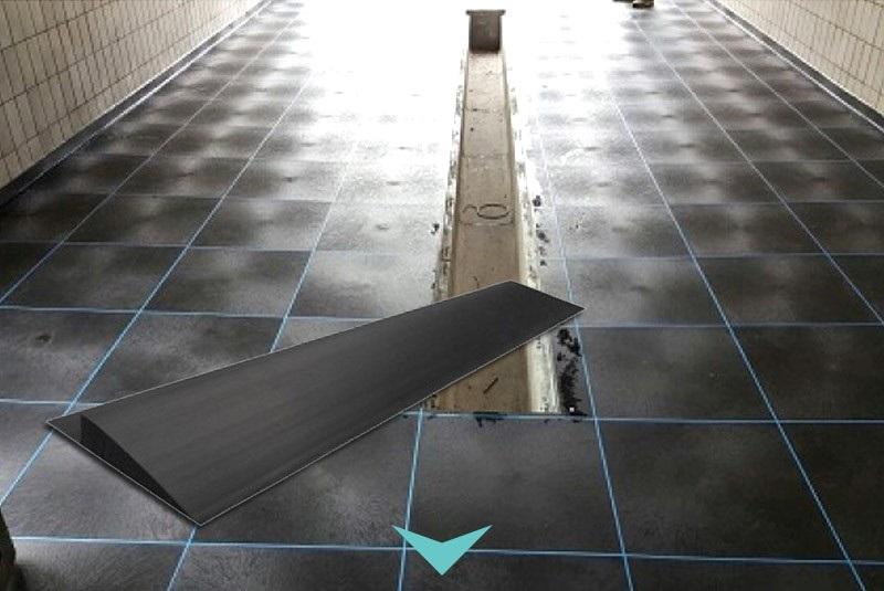Afwerkranden voor pvc vloeren
