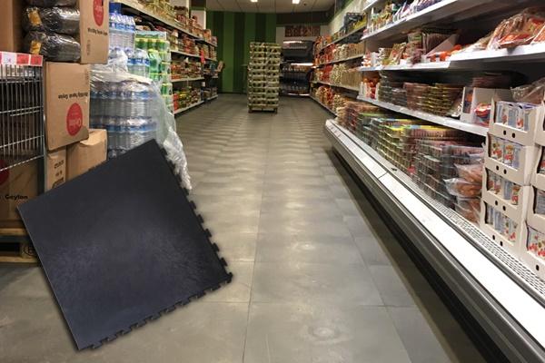 Supermarktvloer-Bedrijfsvloer
